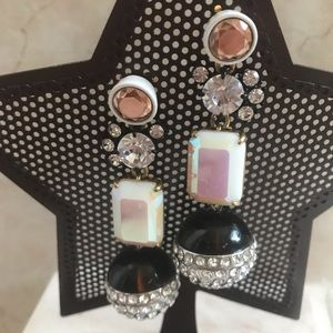 🔥EUC JCrew BruleeCenter DiscoBall drop Earrings❤️